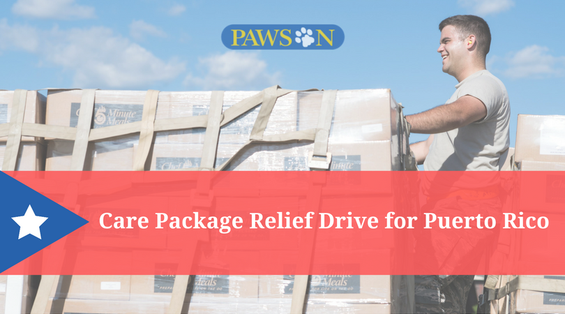 Care Package Relief Drive For Puerto Rico Pawson