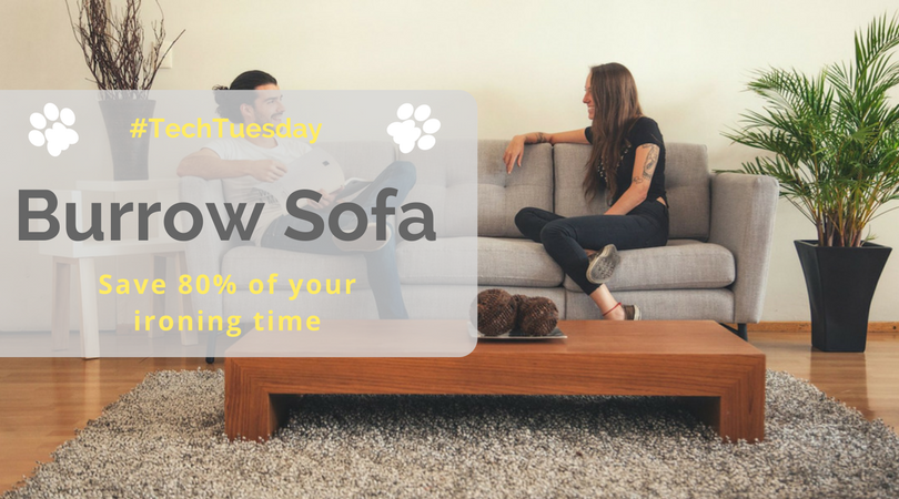 Beau #TechTuesday | Burrow Sofa: The Spill Proof And Pet Friendly Sofa