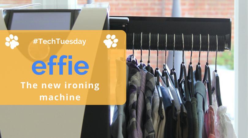 Techtuesday Effie The Smart Ironing Machine Pawson