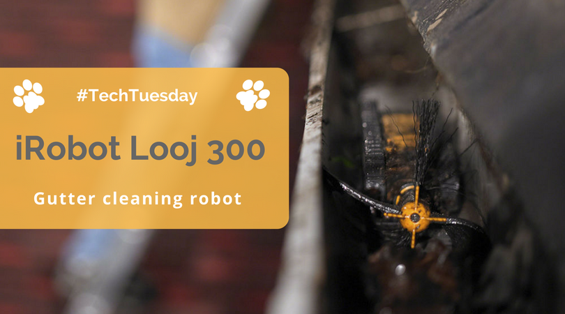 Techtuesday Irobot Looj 330 Gutter Cleaning Robot