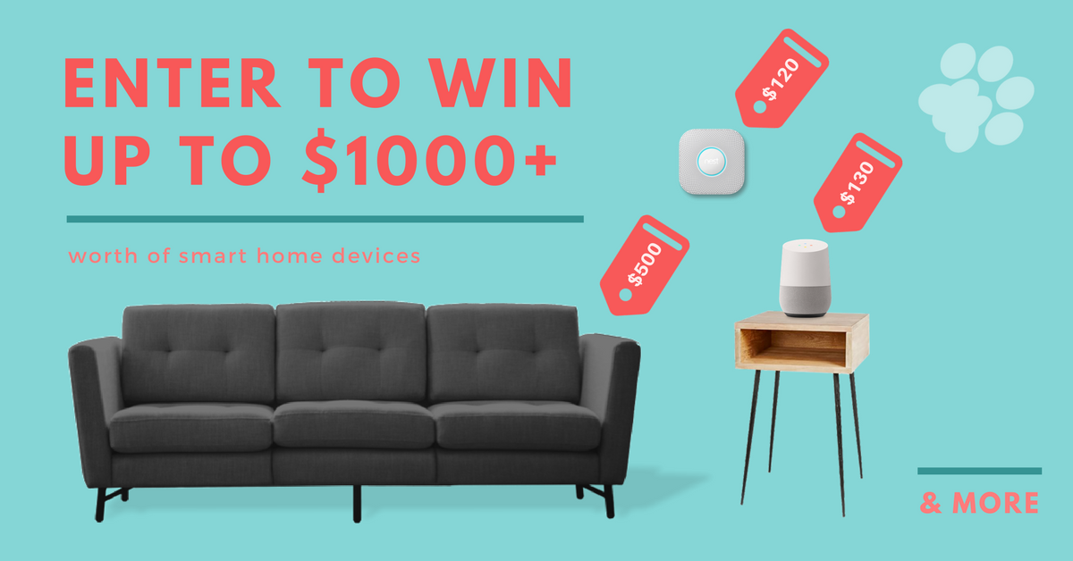 Win 1000 Worth Of Smart Home Devices Including Burrow