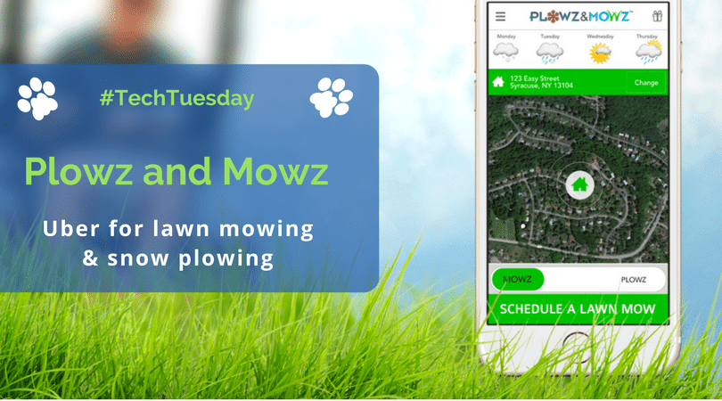Techtuesday Plowz Mowz Uber For Lawn Mowing Snow
